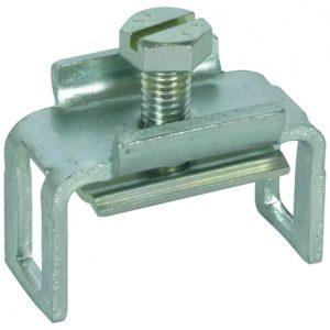 Винтовая клемма для шины уравниваия потенциалов для плоского проводника Fl = 40x5 мм St/gal Zn