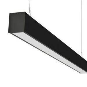 Офисный светодиодный светильник Линейный на тросах ПромЛед Элегант-40-1000
