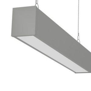 Светильник светодиодный подвесной Микко Шот 18 Вт., 4000К, 500х70х60мм Магистральное исполнение (для соединения в линию)