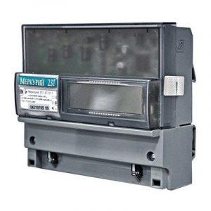 Счетчик многотарифный 1-4 3*230/400 5(60)А класс точности 1 IrDA ЖКИ на DIN-рейку Меркурий 231 AT