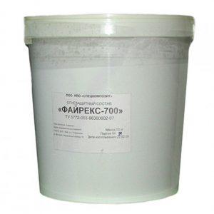 Состав для повышения огнестойкости стальных воздуховодов до 1 часаТОЗ-1В / барабан 40 кг / ЕI60