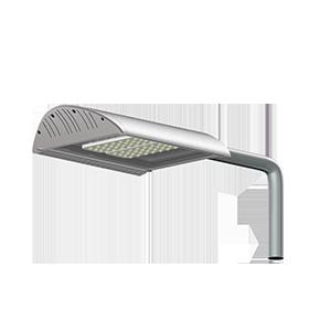 Светодиодный светильник «ВАРТОН» уличный ТРИУМФ для магистралей 90 ВТ 6500К линзы, крепление на консоль
