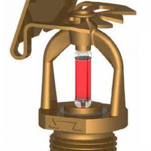 """Ороситель спринклерный водяной и пенный горизонтальный СУS1-РГо0,74-R1/2/Р93.В3-""""СВГ-15"""" -"""