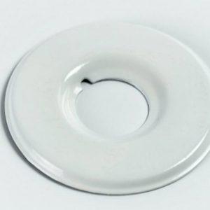 Декоративный отражатель белого цвета, пластик
