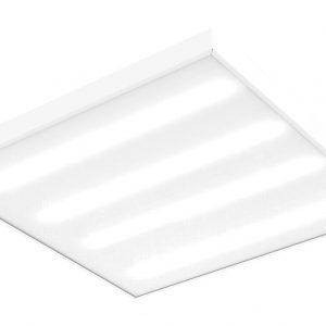 Светодиодный светильник 'ВАРТОН BASIC' офисный встраиваемый/накладной 595*595*50мм 35 ВТ 5000К