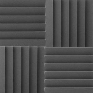 Окрашенные черные акустические панели