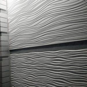 Крупноформатные стеновые акустические панели