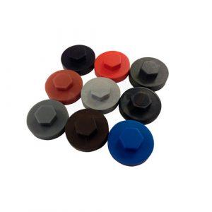 Цветные колпачки для саморезов и винтов