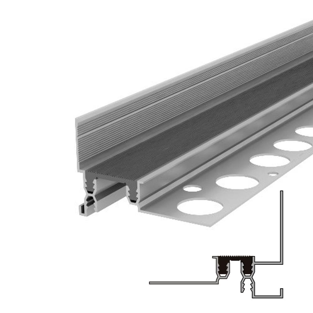 Закладной профиль для деформационного шва без нагрузки Аквастоп тип ДГК-15-УГЛ.Ш/065