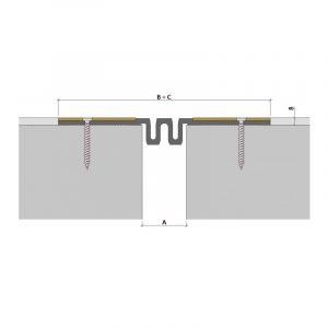 Закладной профиль для деформационного шва ДПВ-8/050 ПП-88-СН (гидроизоляционный)