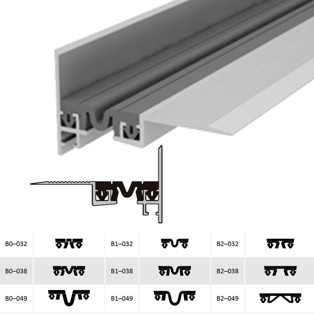 Накладной профиль для деформационного шва ДШВ-0-УГЛ/060 В2-060