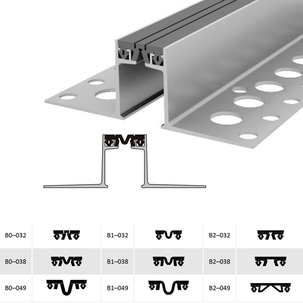 Закладной профиль для деформационного шва ДШВ-50/060 В0-068