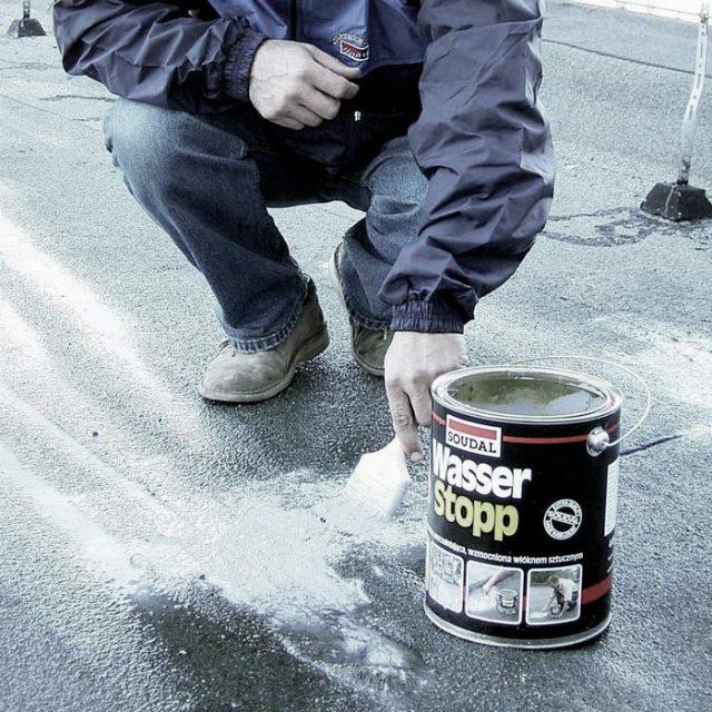 Материалы для ремонта гидроизоляционных покрытий