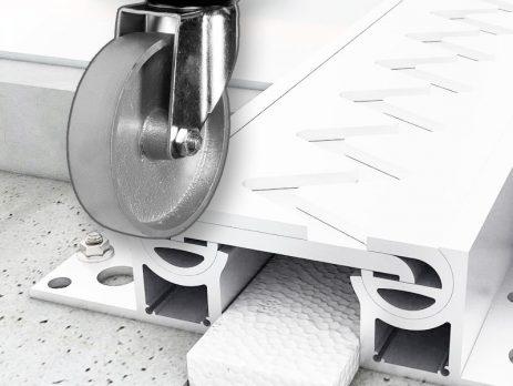 Для складской техники на стальных колесах без шин