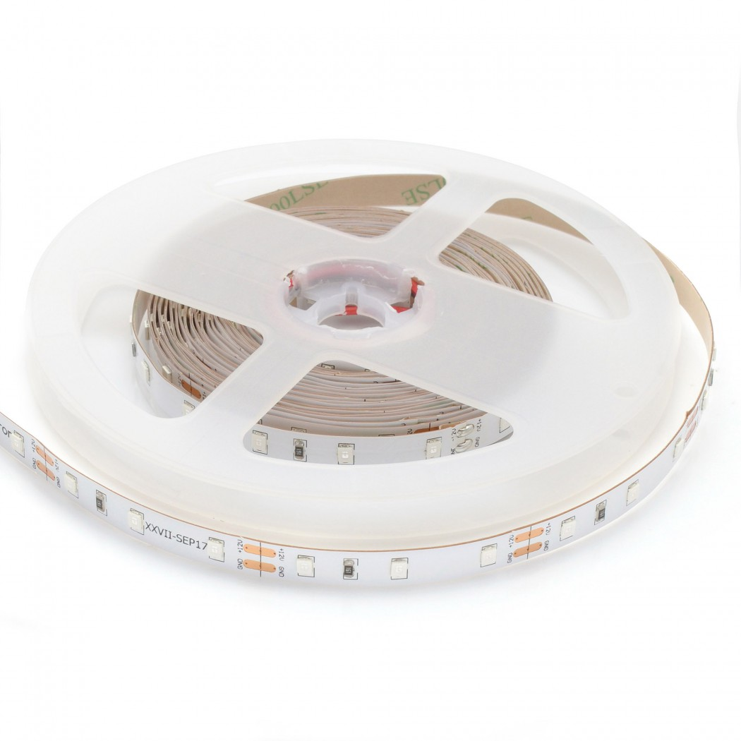Светодиодная лента LEDcraft SMD 3528 4,8 Ватт на метр 60 диодов на метр IP 68 Холодный белый