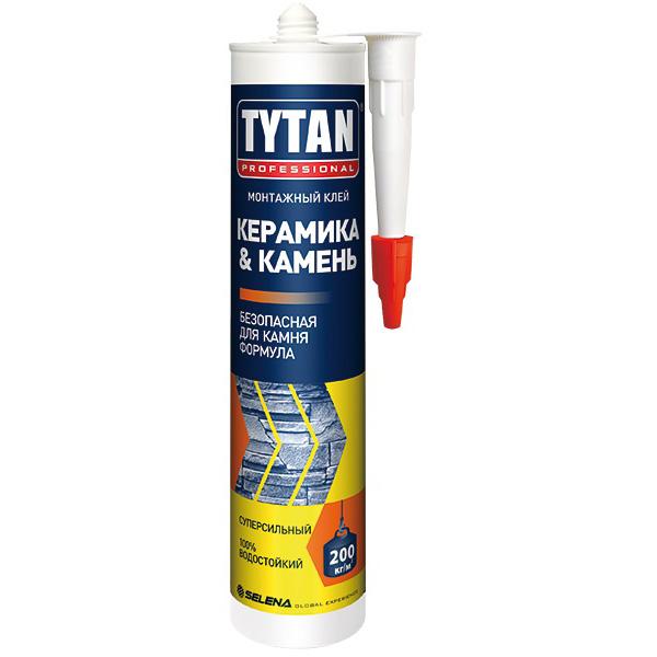 Монтажный клей TYTAN Professional Керамика & Камень, 310 мл