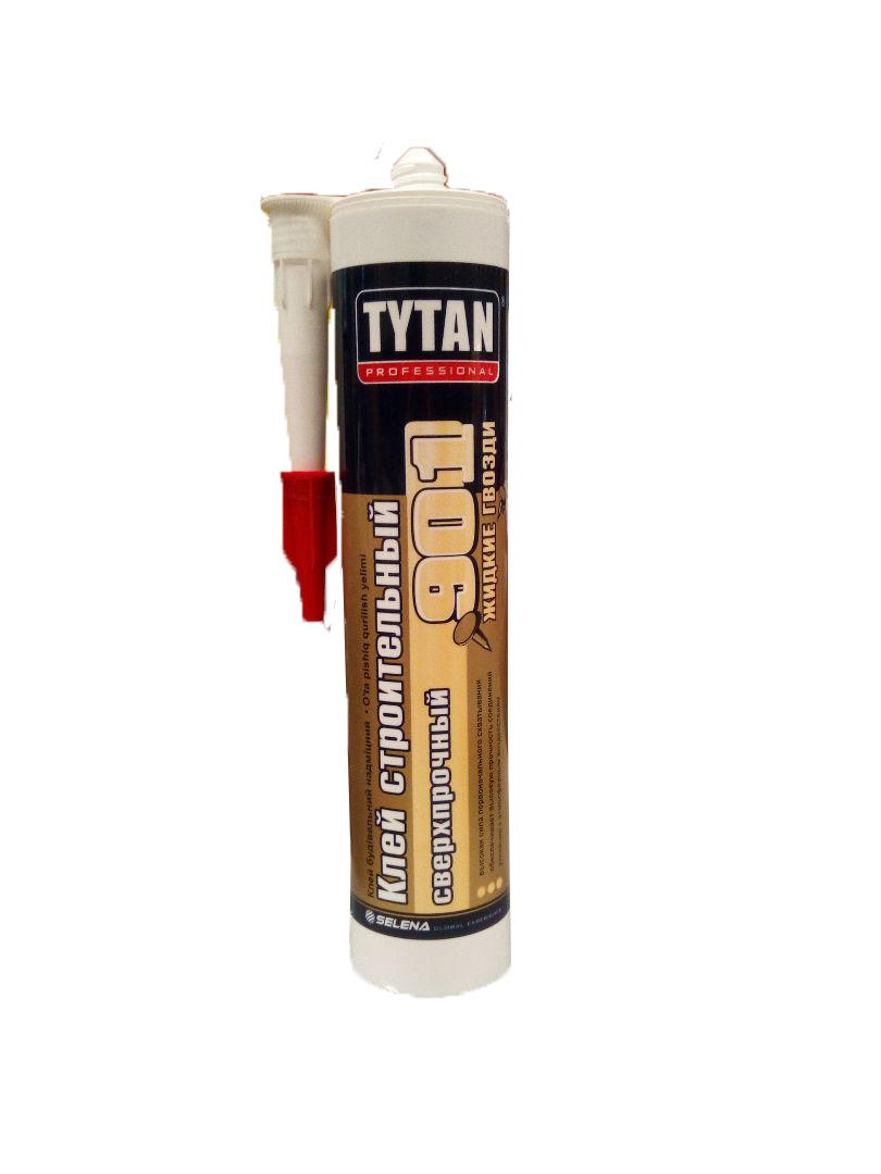 Сверхпрочный клей TYTAN Professional Строительный №901 бежевый 380г
