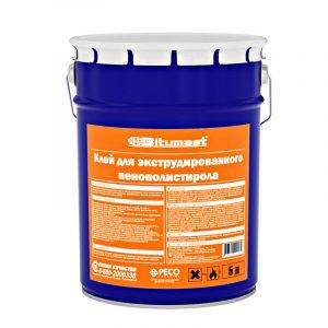Клей Bitumast для ЭПП (XPS) и пенопласта 52 л / 47 кг
