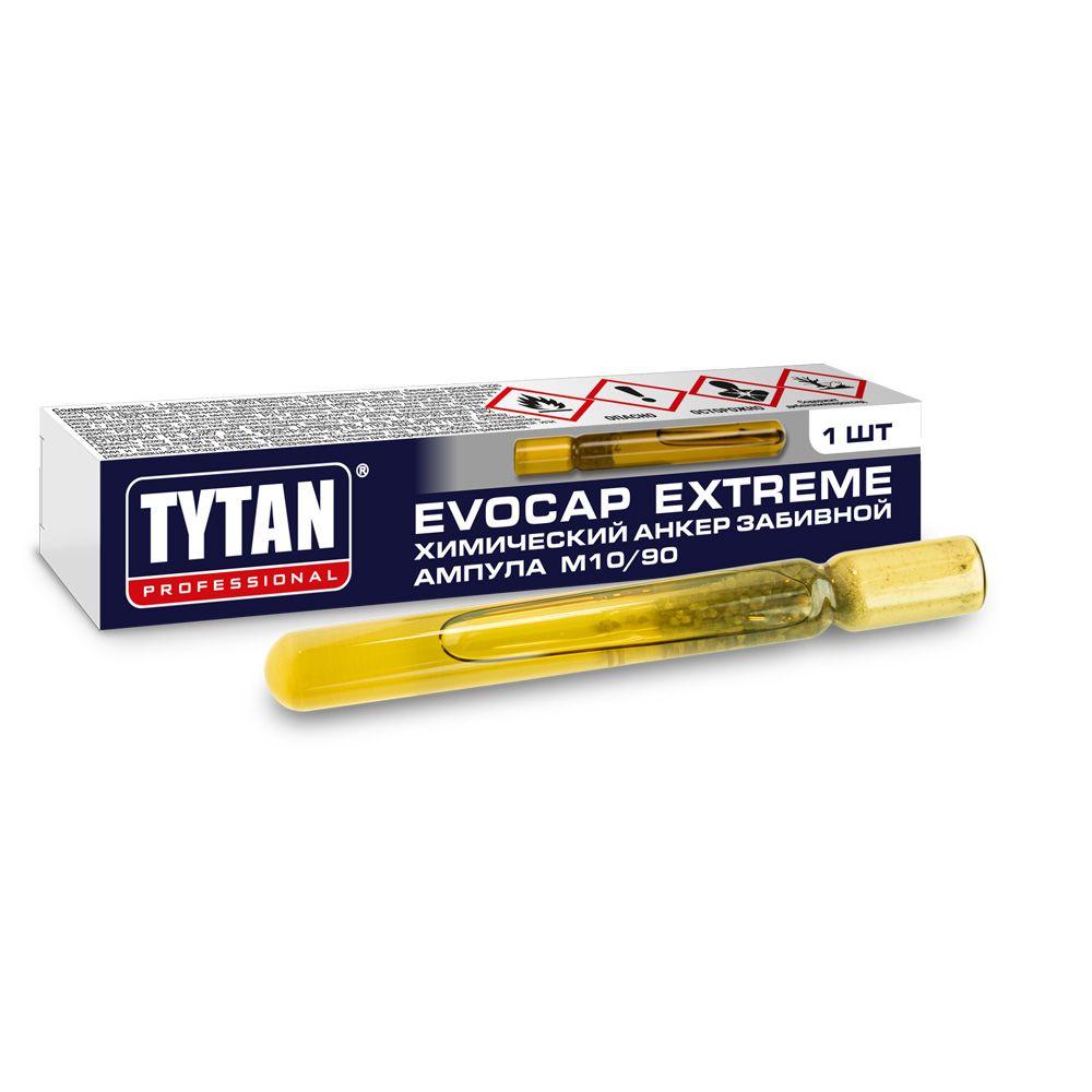 Анкер химический TYTAN Professional ампула EVOCAP EXTREME M8/80 забивной