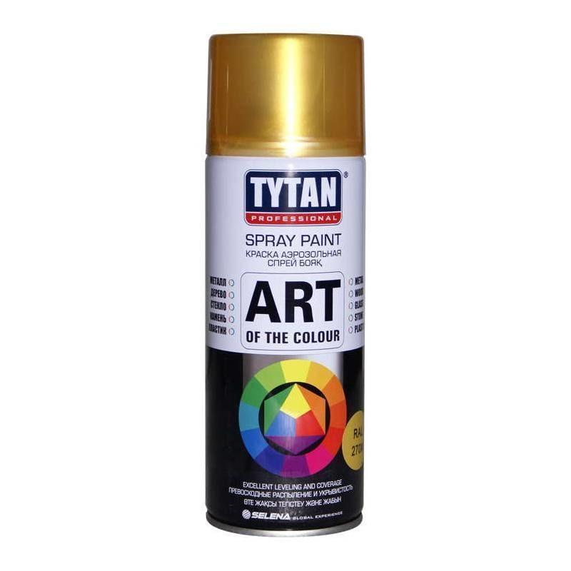 Краска TYTAN Professional Art of the colour аэрозольная лак бесцветный глянец