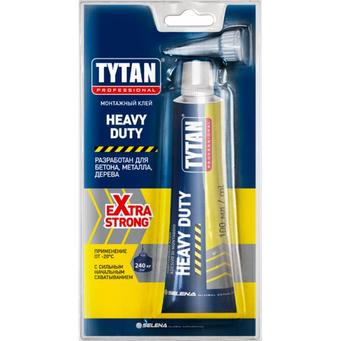 Монтажный клей TYTAN Professional Heavy Duty, 100 мл.