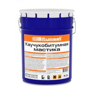 Мастика Bitumast каучукобитумная 190 кг