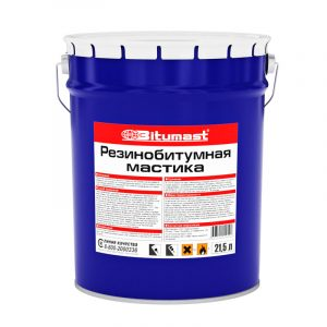 Мастика Bitumast резинобитумная 190 кг