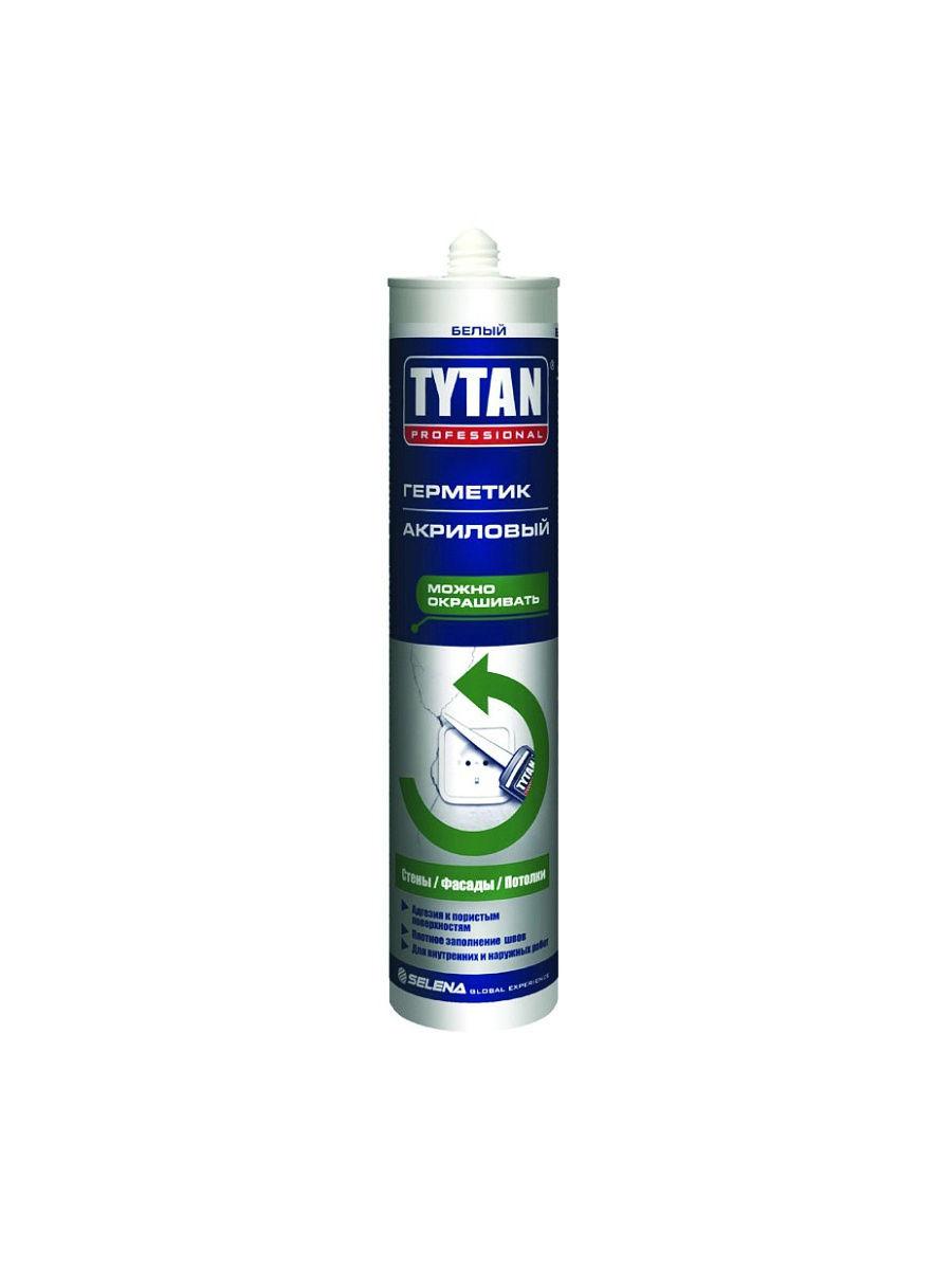 Герметик TYTAN Professional акриловый для Вентиляционных Каналов серый 310мл