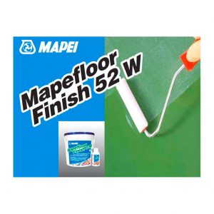 Полимерный пол Mapefloor Finish 52 W