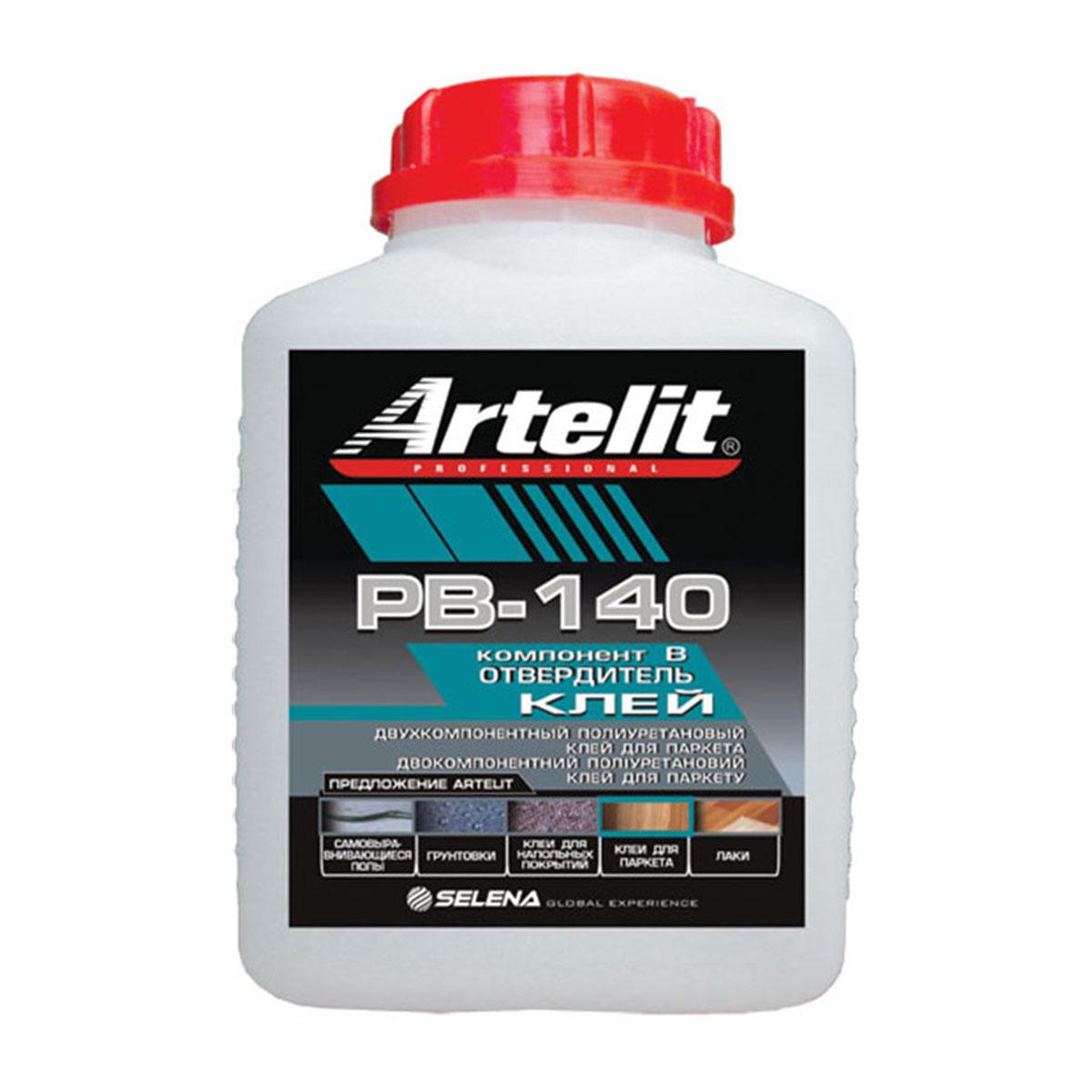 Клей Artelit Professional PB-140R Двухкомпонентный полиуретановый для паркета 10 кг