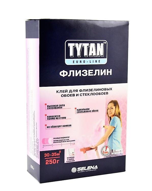 Клей TYTAN Euro-line для флизелиновых и стеклообоев ФЛИЗЕЛИН (12 шт.)