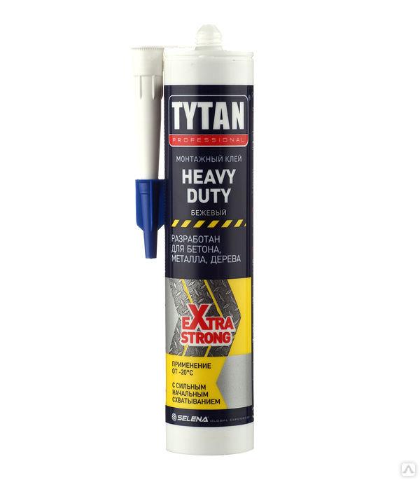 Монтажный клей TYTAN Professional Heavy Duty, 310 мл.
