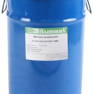 Мастика Bitumast кровельная 52 л / 47 кг