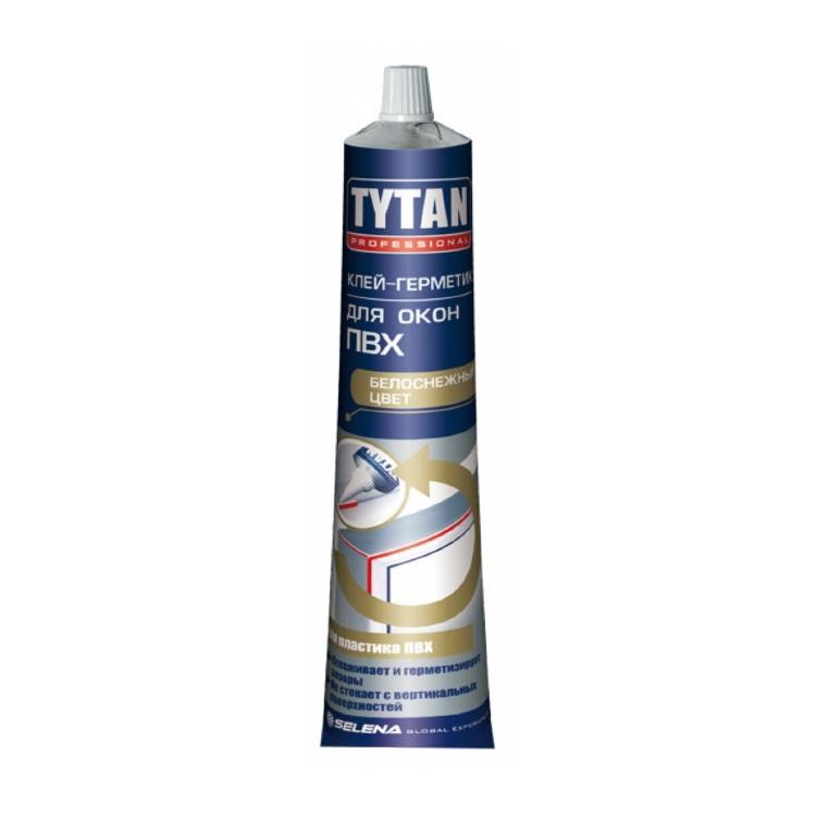 Клей-герметик TYTAN Professional для окон ПВХ белый 200гр