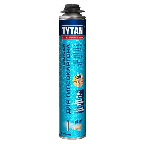Пено-клей для гипсокартона TYTAN Professional GUN 840 мл