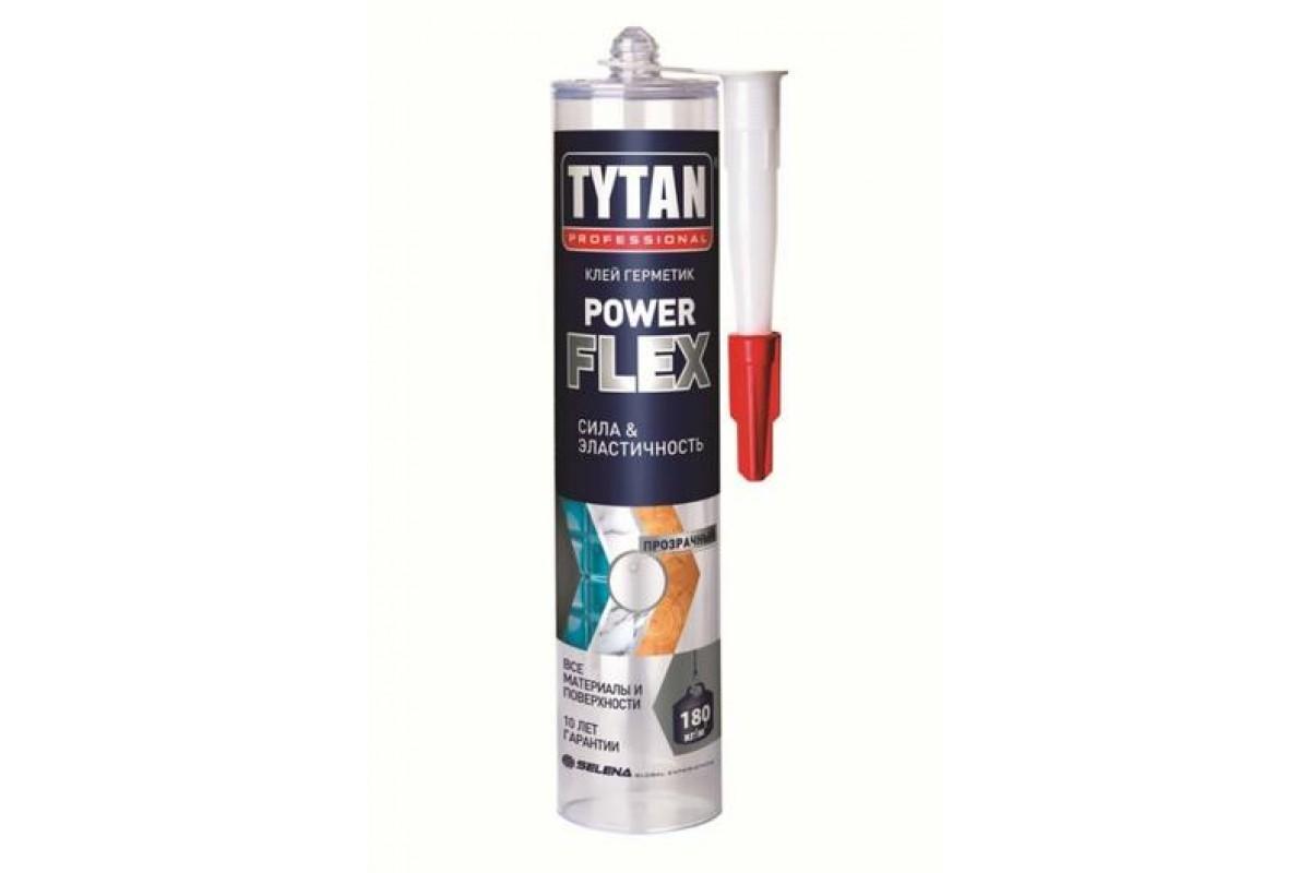 Монтажный клей TYTAN Professional Power flex белый 290 мл (6 шт)