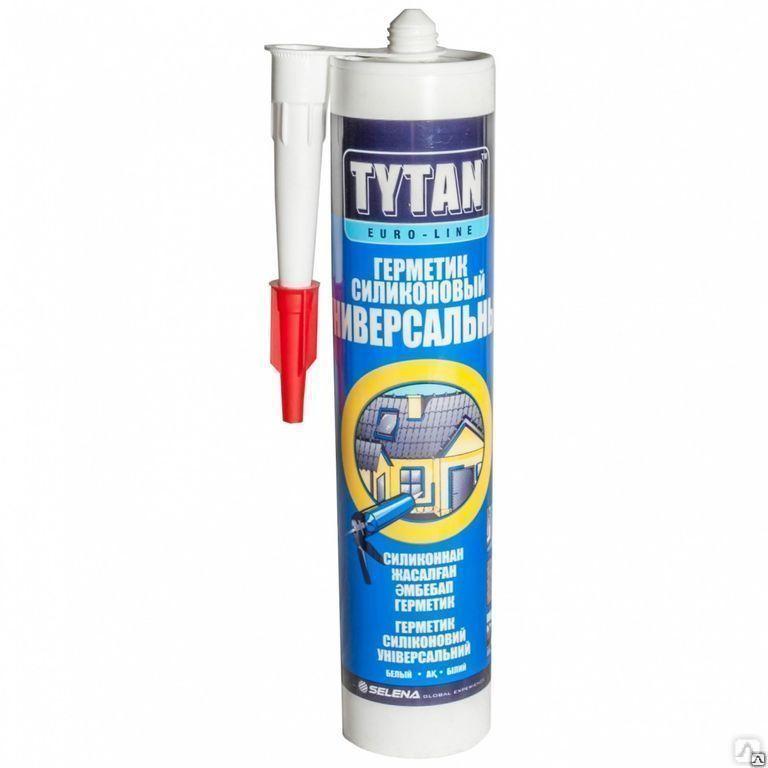 Герметик TYTAN Euro-Line Силиконакриловый Общестроительный белый 290мл