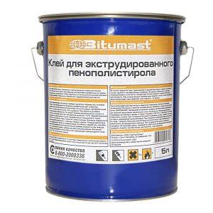Клей Bitumast для ЭПП (XPS) и пенопласта 190 кг