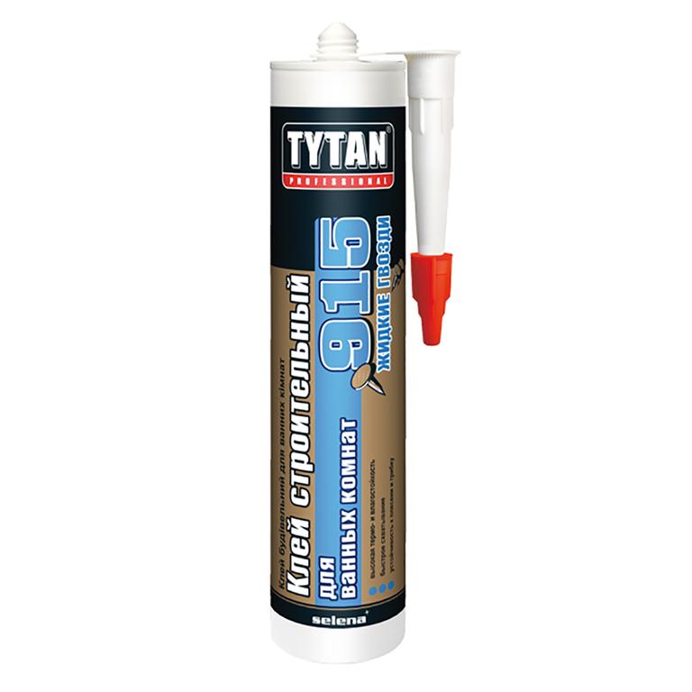 Строительный клей для ванных комнат TYTAN Professional №915 белый 440г