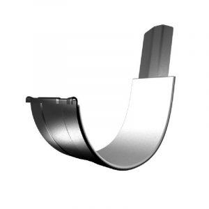 Соединитель желоба LINKOR (2 уплотнителя EPDM ,2 паза) (150мм типоразмеры) (алюминий толщина 2 мм)