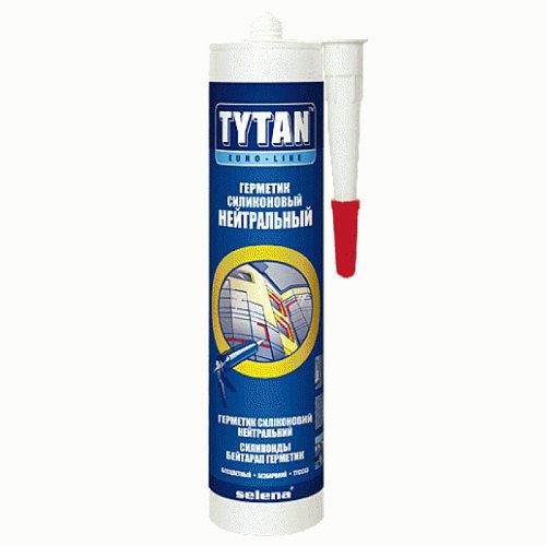 Герметик TYTAN Professional силиконовый универсальный 85 мл бесцветный