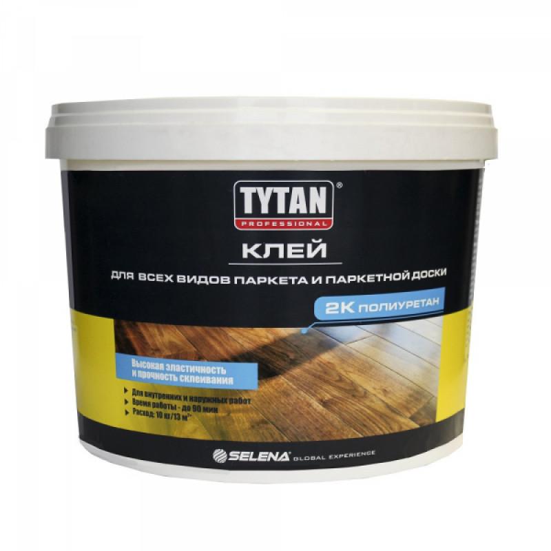 Клей TYTAN Professional для всех видов паркета и паркетной доски, 2-компонентный, 10 кг