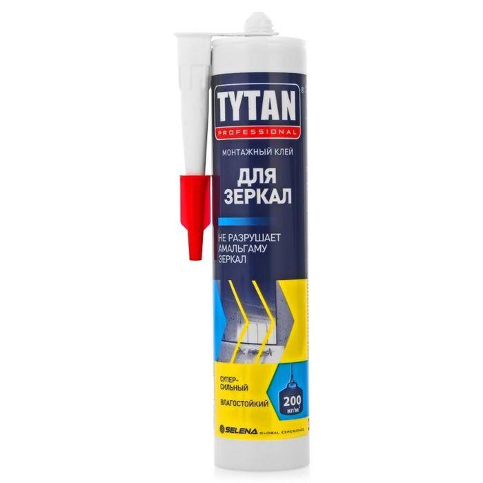 Монтажный клей TYTAN Professional Для Зеркал, 310 мл бежевый