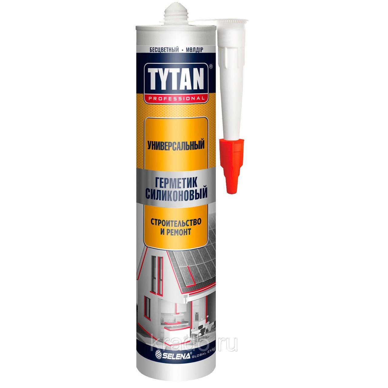 Герметик TYTAN Professional силиконовый Строительный коричневый 310мл*