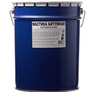Мастика Bitumast битумная гирдоизоляционная 19 кг