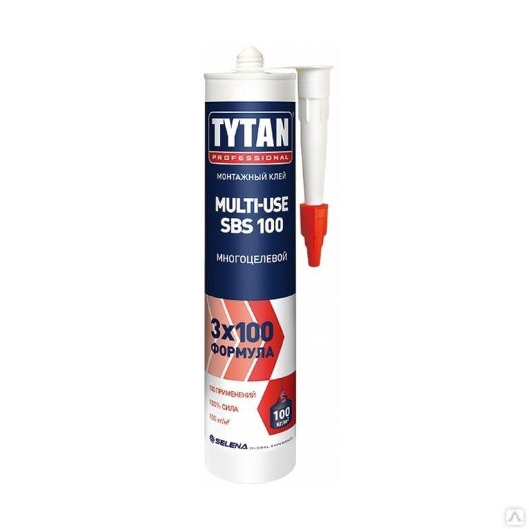 Монтажный клей TYTAN Professional Multi-use, 310 мл.