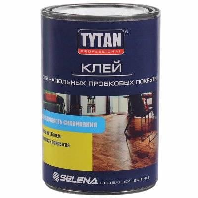 Клей TYTAN Professional для напольных пробковых покрытий, 3 л