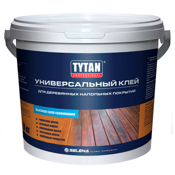 Клей TYTAN Professional Универсальный для паркета и паркетной доски, 14 кг