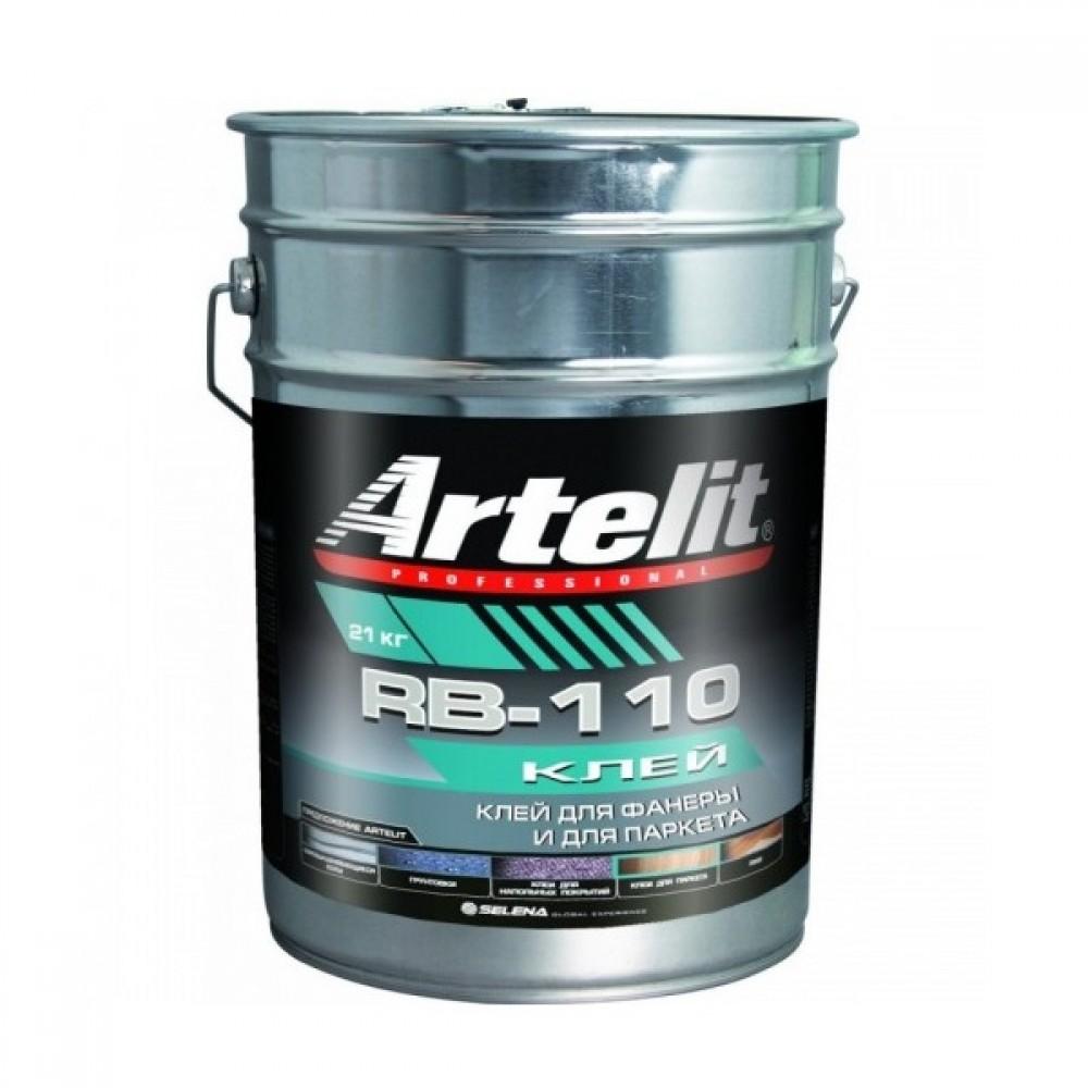 Клей Artelit Professional RB-110 для Фанеры и для Паркета 21 кг