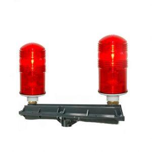 Сдвоенный заградительный огонь малой интенсивности 2 * СДЗО-05-60Вт >10cd type «А»